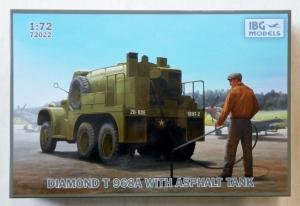 IBG MODELS 1/72 72022 DIAMOND T968A WITH ASPHALT TANK
