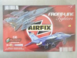 AIRFIX 1/48 10010 FRONT LINE FIGHTERS JAGUAR GR3ES/TORNADO F3/EF3