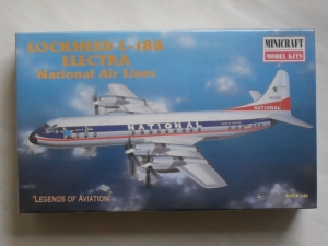 MINICRAFT 1/144 14461 LOCKHEED L-188 ELECTRA NATIONAL AIR LINES