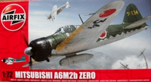 AIRFIX 1/72 01005 MITSUBISHI A6M2b ZERO