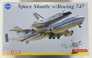 DRAGON 1/144 14705 SPACE SHUTTLE WITH BOEING 747  UK SALE ONLY