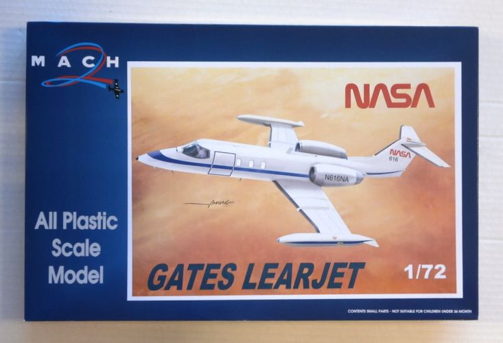 MACH 1/72 085 GATES LEARJET