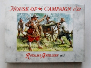 CALL TO ARMS 1/72 59 ROYALIST ARTILLERY