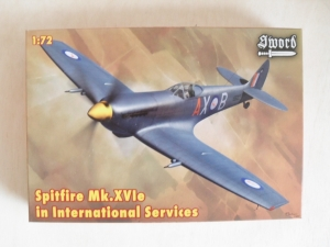 SWORD 1/72 72068 SPITFIRE Mk.XVIe INTERNATIONAL SERVICE