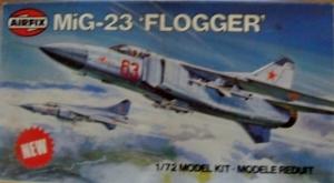 AIRFIX 1/72 03036 MiG-23 FLOGGER