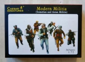 CAESAR MINATURES 1/72 063 MODERN MILITIA SOMALIAN   ASIAN