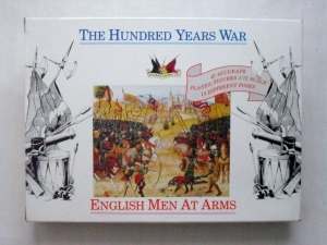 ACCURATE FIGURES 1/72 7206 HUNDRED YEARS WAR ENGLISH MEN AT ARMS 1400