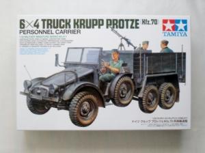 TAMIYA 1/35 35317 6x4 TRUCK KRUPP PROTZE  Kfz.70  PERSONNEL CARRIER
