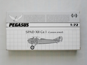 PEGASUS 1/72 2021 SPAD XII Ca.1
