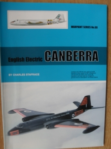 WARPAINT  060. ENGLISH ELECTRIC CANBERRA