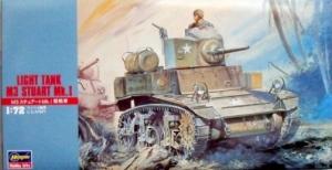 HASEGAWA 1/72 MT03 STUART Mk.I