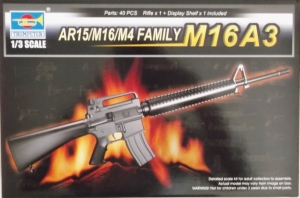 TRUMPETER 1/3 01911 AR15/M16/M4 FAMILY M16A3
