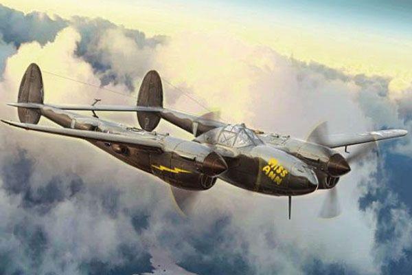 ITALERI 1/72 1446 P-38J LIGHTNING