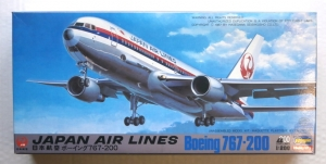 HASEGAWA 1/200 LC15 BOEING 767-200 JAL