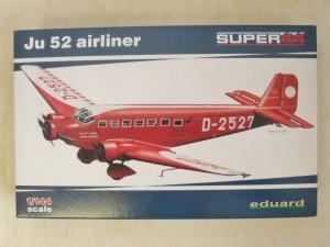 EDUARD 1/144 4423 JUNKERS Ju 52 AIRLINER