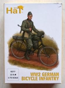 HAT INDUSTRIES 1/72 8277 WW2 GERMAN BICYCLE INFANTRY
