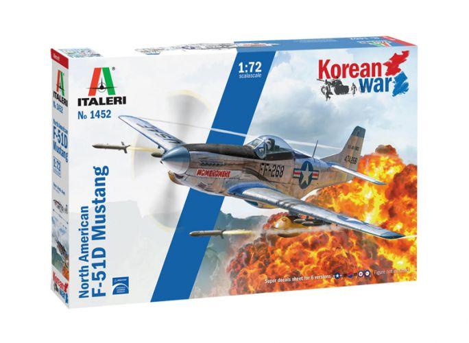 ITALERI 1/72 1452 F-51D KOREAN WAR