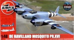 AIRFIX 1/48 07112 DE HAVILLAND MOSQUITO B Mk.XVI/PR.XVI