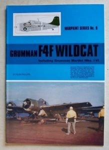 WARPAINT  009. GRUMMAN F4F WILDCAT   INCLUDING MARTLET Mks I-IV