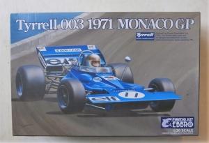 EBBRO 1/20 007 TYRRELL 003 1971 MONACO GP