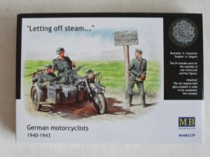 MASTERBOX 1/35 3539 GERMAN MOTORCYCLISTS 1940-43