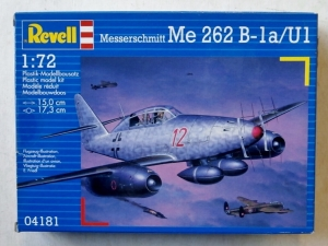 REVELL 1/72 04181 MESSERSCHMITT Me 262 B-1a/U1