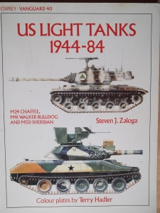 VANGUARD  40. US LIGHT TANKS 1944-84