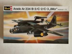 REVELL 1/72 H162 ARADO Ar 234B-2/C-2/C-3 BLITZ