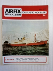 AIRFIX  AIRFIX MAGAZINE 1973 MAY