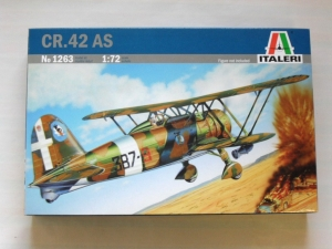 ITALERI 1/72 1263 FIAT CR.42 AS