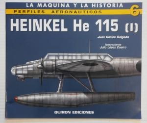 CHEAP BOOKS  ZB743 HEINKEL He 115  I  QUIRON EDICIONES