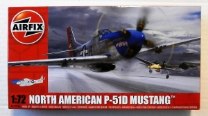 AIRFIX 1/72 01004A NORTH AMERICAN P-51D MUSTANG