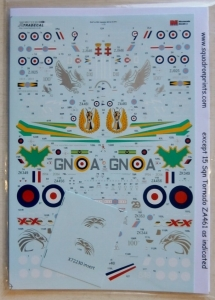 XTRADECAL 1/72 72230 RAF   RN UPDATE 2014 15 Pt.1