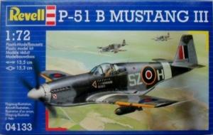 REVELL 1/72 04133 P-51B MUSTANG III