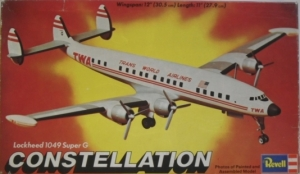 REVELL 1/144 H167 SUPER CONSTELLATION TWA