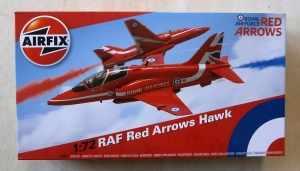 AIRFIX 1/72 02005C RAF RED ARROWS HAWK