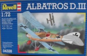 REVELL 1/72 04328 ALBATROS D.III