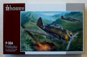 SPECIAL HOBBY 1/72 72237 P-35A PHILIPPINE DEFENDER
