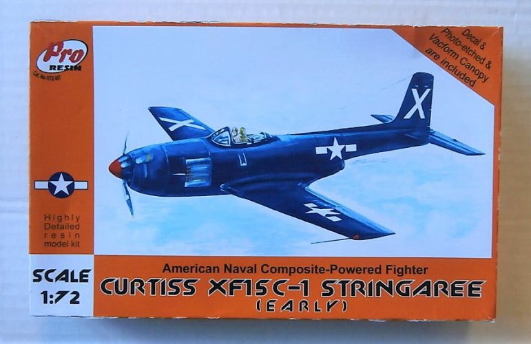 PRO RESIN 1/72 007 CURTISS XF15C-1 STRINGAREE  EARLY