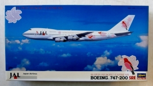 HASEGAWA 1/200 LT101 JAL BOEING 747-200 SUPER RESORT EXPRESS