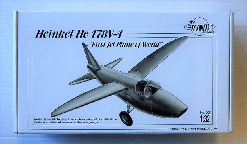 PLANET MODELS 1/32 205 HEINKEL He 178V-1