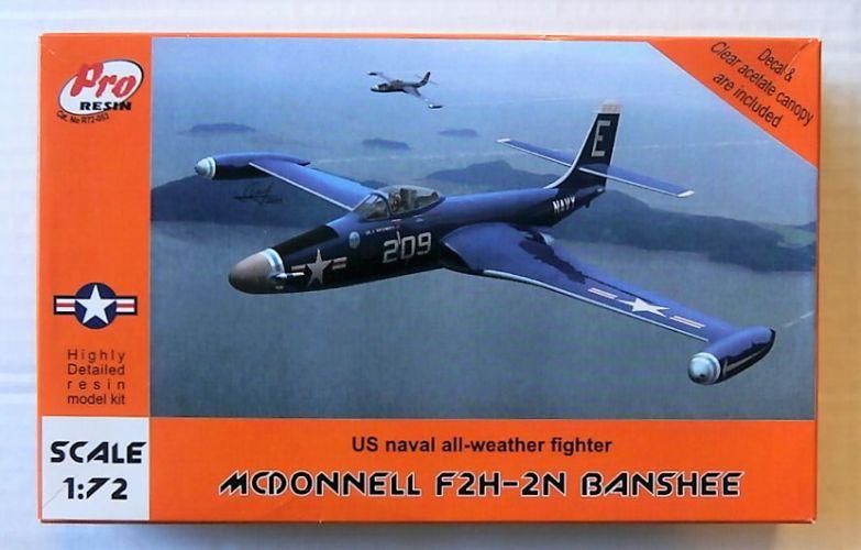 PRO RESIN 1/72 053 MCDONNELL F2H-2N BANSHEE
