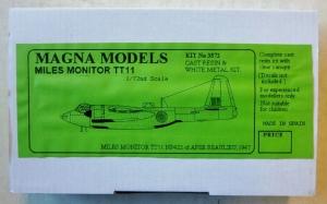 MAGNA 1/72 3572 MILES MONITOR TT.11