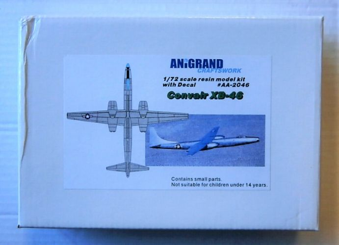 ANIGRAND 1/144 4009 NORTHROP YB-49 FLYING WING