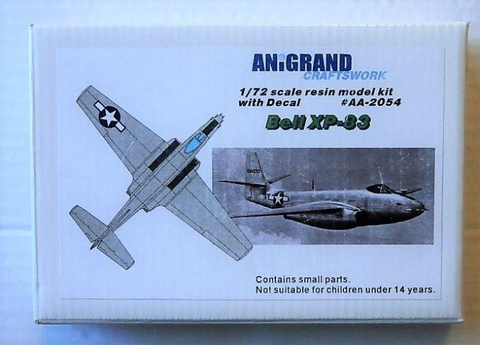ANIGRAND 1/72 2054 BELL XP-83
