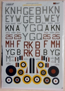 XTRADECAL 1/72 72231 AW WHITLEY B Mk.V/GR VII
