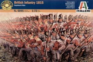 ITALERI 1/72 6095 NAPOLEONIC BRITISH INFANTRY 1815