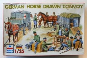 ESCI 1/35 5047 GERMAN HORSE DRAWN CONVOY