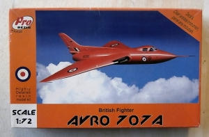 PRO RESIN 1/72 R72-028 AVRO 707A