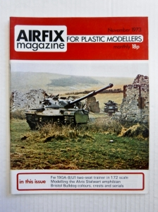 AIRFIX  AIRFIX MAGAZINE 1973 NOVEMBER